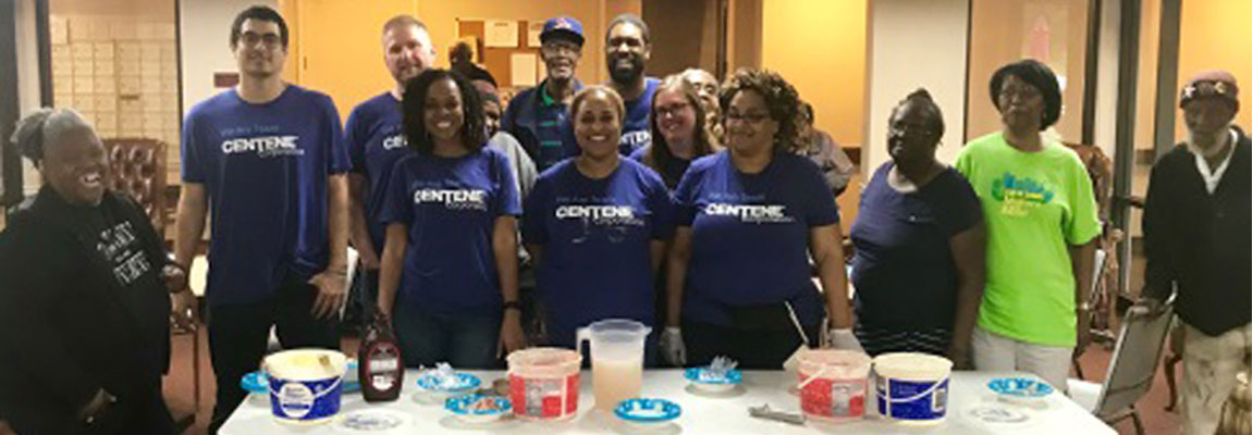Centene Volunteers Bring Hope and Happiness to Dozens of Low Income Seniors